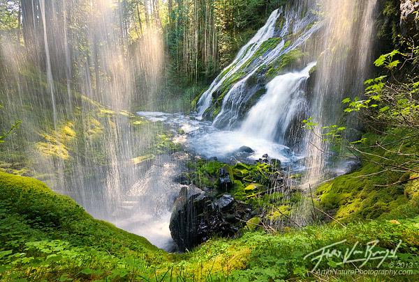 Floris Van Breugel - waterfall